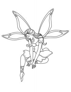 Anime Coloring Pages - Awesome Beautiful Fairy Coloring Pages Free Coloring Library 10b