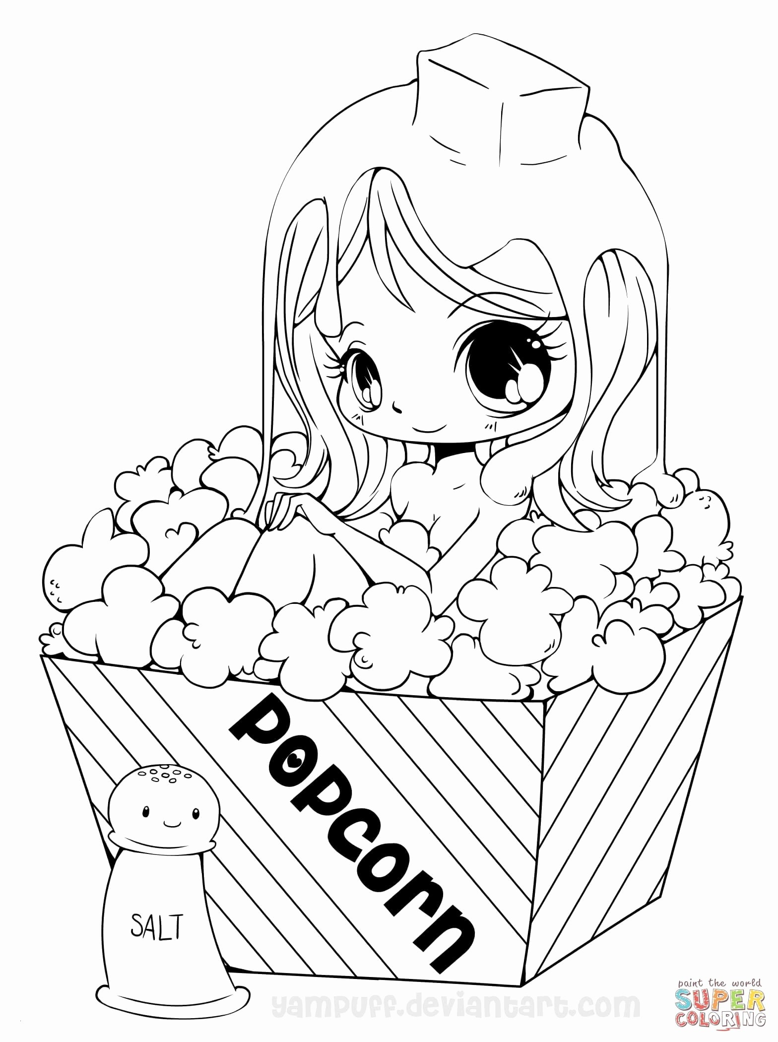 anime coloring pages online Collection-Awesome Anime Girl Coloring Pages Coloring Pages Elegant Ausmalbilder Anime Girl 18-s