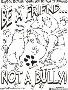 Anti Bullying Coloring Pages - Free Bullying Worksheets for First 8f