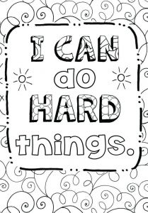 Anti Bullying Coloring Pages Free - Growth Mindset Coloring Page 12i
