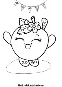 Apple Printable Coloring Pages - Apple Blossom Coloring Page 18r