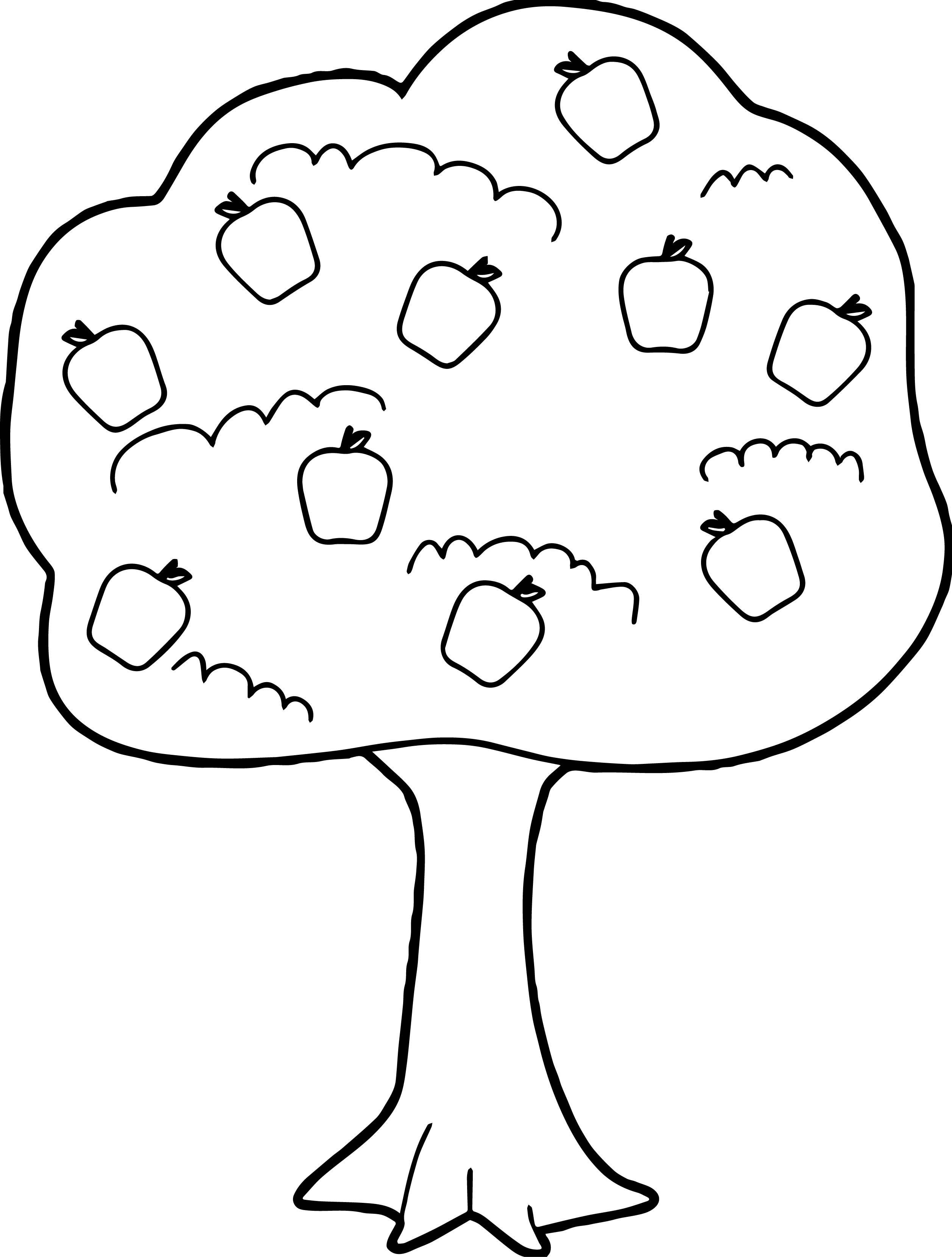 apple printable coloring pages Collection-Coloring for Preschoolers New Preschool Coloring Pages Apple Tree Inspirational Printable Coloring Coloring 19-r