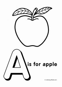 Apple Printable Coloring Pages - Food Coloring Pages for Kindergarten Fresh Luxury Apple Coloring Pages Preschool Katesgrove 11t