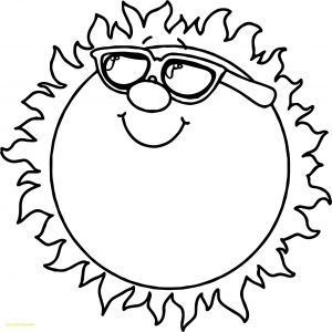 Apple Printable Coloring Pages - Coloring for Preschoolers Elegant Drawing for Kids New Printable Sun Colouring 31 for Preschoolers 0d 18k
