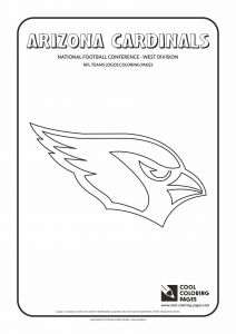 Arizona Cardinals Coloring Pages - Cool Coloring Pages Nfl American Football Clubs Logos National Football… 11s