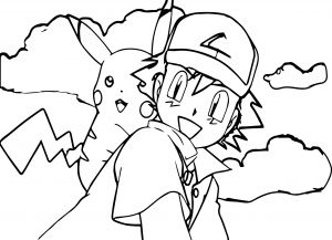 Ash Coloring Pages - New Pokemon Coloring Pages for Your Kids 3c