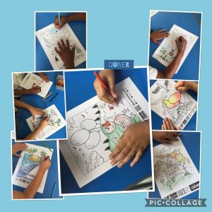 "Augmented Reality Coloring Pages - Megan Hardy On Twitter ""y3 Were Colouring In This afternoon Ready to Use 6f"