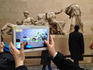 Augmented Reality Coloring Pages - O for Oat July 2014 Augmented Reality Technology British Museum Education Learning 5f