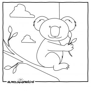 Australian Animals Coloring Pages - Australia Coloring Pages Zu9x Australian Animals Colouring Pages 8h
