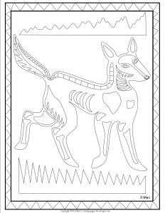 Australian Animals Coloring Pages - Best X Ray Art Coloring Pages 20b