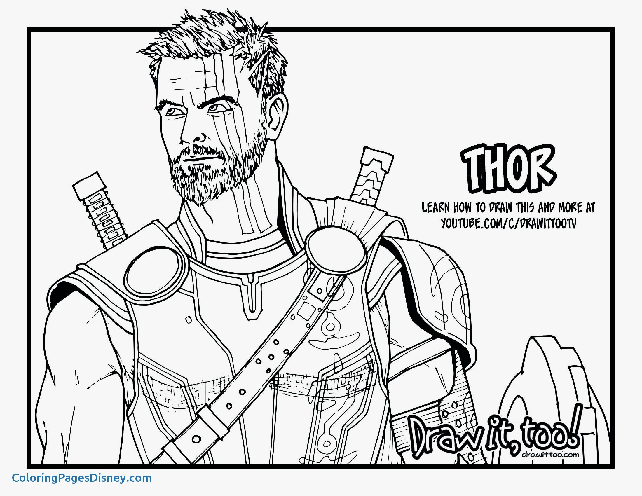 avenger coloring pages Download-Marvel Coloring Pages Avengers Thor Coloring Pages Free Coloring Pages Download 20-t