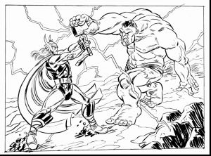 Avenger Coloring Pages - Thor Coloring Pages Lovely Avenger Coloring Pages Heathermarxgallery 6q