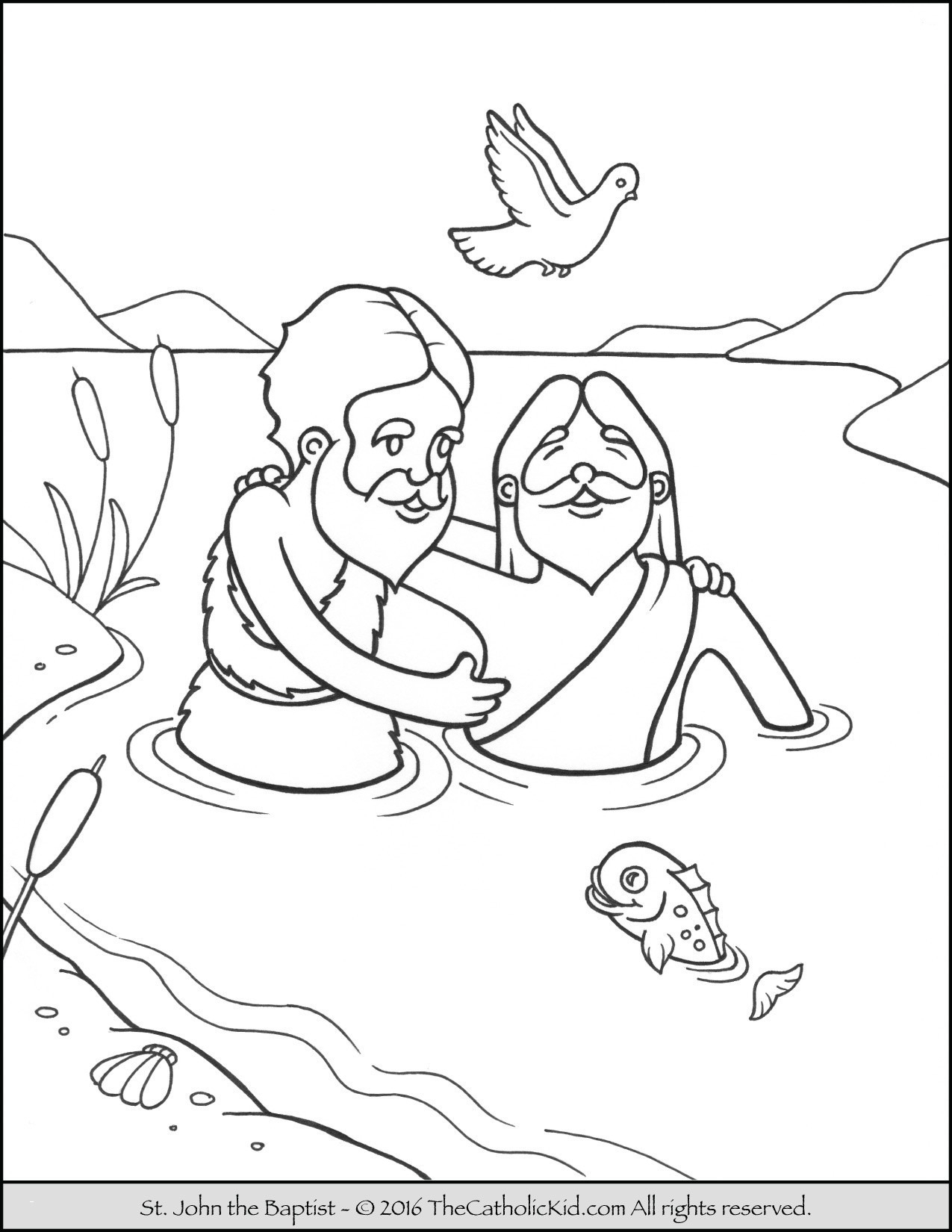 baptism coloring pages Collection-Baptism Coloring Page Coloring Jesus Elegant Baptism Coloring Pages Elegant 20-r