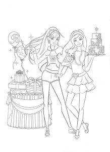 Barbie Coloring Pages Pdf - Barbie Coloring Pages 1q