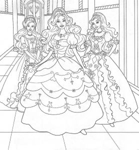 Barbie Coloring Pages Pdf - Barbie Coloring Pages Pdf Barbie Coloring Page 1d
