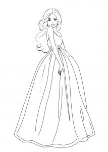 Barbie Coloring Pages Pdf - Barbie Coloring Pages to Print for Free Coloring Pages Barbie Unique Barbie Coloring Pages for Girls 6p