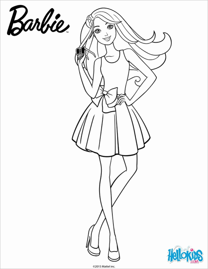 barbie coloring pages pdf Collection-21 Barbie Coloring Pages – Free Printable Word Pdf Jpeg Free Printable Barbie Coloring Pages 20-f
