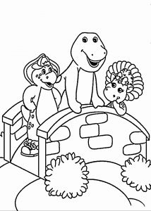 Barney Coloring Pages - Printable Time Sheet Academic Printable Barney Coloring Pages Lovely Home Coloring Pages Best 4p