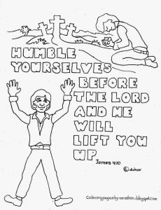 Beatitudes Coloring Pages for Children - Beatitudes Coloring Pages Beatitudes Coloring Pages for Children Lovely Humble Yourselves 15a