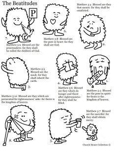 Beatitudes Coloring Pages for Children - 4f5a B8265a00a8a4bcde72c0082 6j