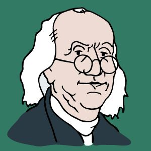 Ben Franklin Coloring Pages - American History Clipart 18k
