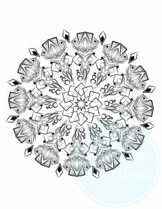 Ben Franklin Coloring Pages - Coloring Page & 1 Free Page Mandala Coloring Page Coloring Pages Coloring for Adults Coloring Color therapy Anxiety Relief Mandala by 1e