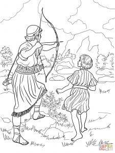 Bible Story Coloring Pages Free - Bible King Coloring Pages Luxury Amazing King David and Nathan Coloring Page Free Printable Pages 8s