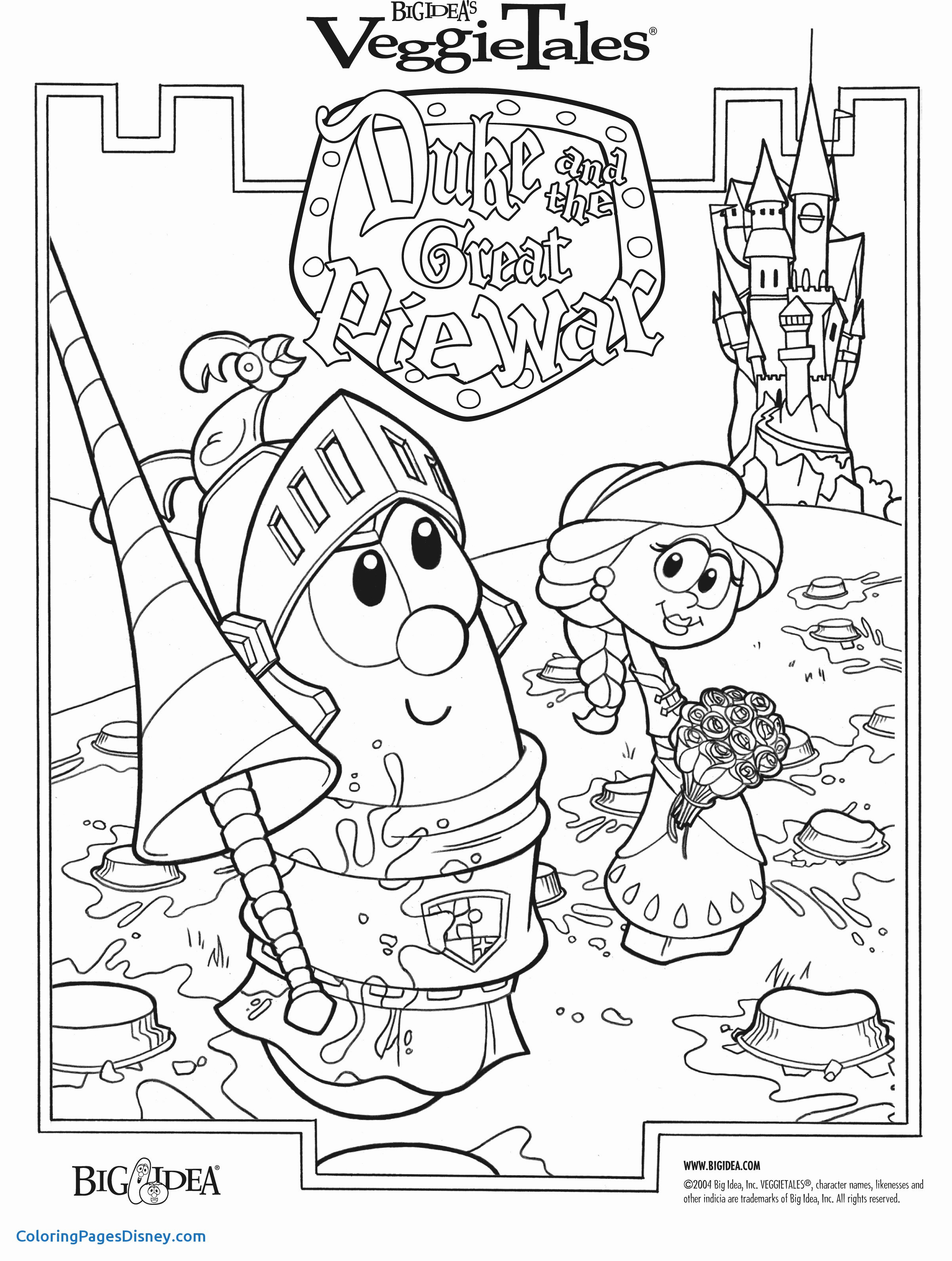 bible story coloring pages preschoolers Collection-Veggie Tales Christmas Coloring Pages Free 18-a