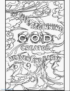 Bible Verse Coloring Pages Free - Free Bible Coloring Pages to Print 4i