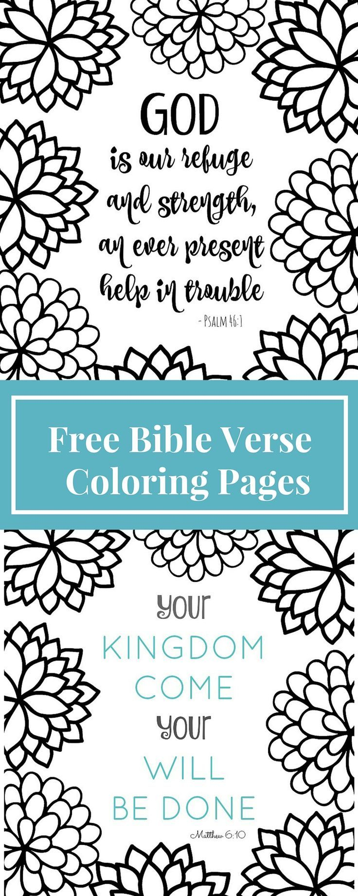 bible verse coloring pages free Download-Coloring pages are for grown ups now These Bible verse coloring page printables are fun & relaxing to color This blog has tons of free printable adult 15-h