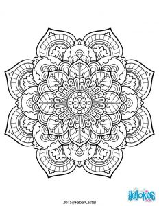 Big Mandala Coloring Pages - Mandala Vintage Coloring Page More 19a