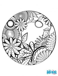 Big Mandala Coloring Pages - Mandala Coloring Page Worksheet 10g