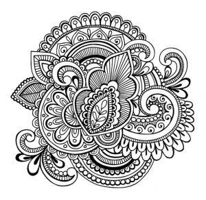 Big Mandala Coloring Pages - Unique Mandala Doodle Doodle is Art 15p
