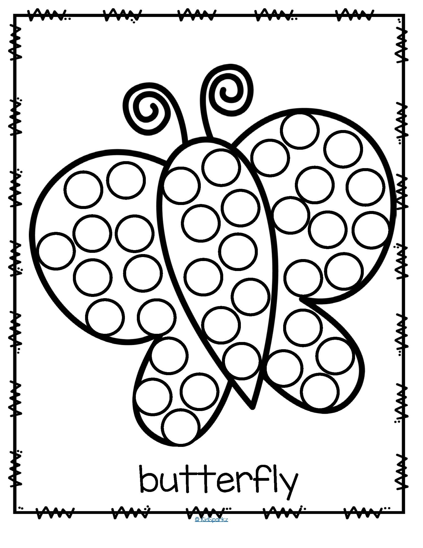21 Bingo Marker Coloring Pages Collection - Coloring Sheets