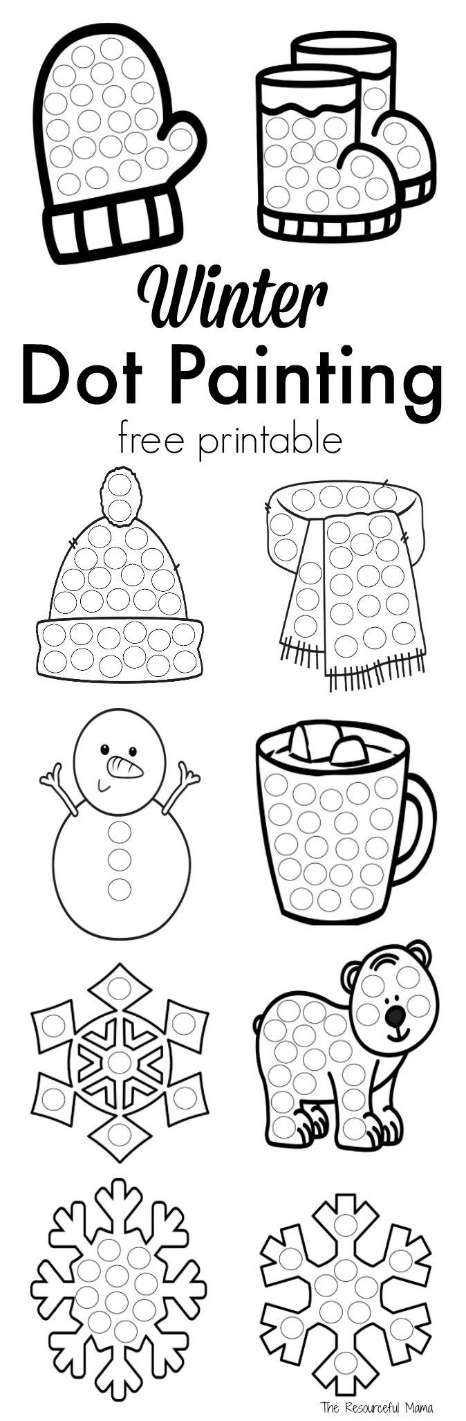 1b coloring pages | 21 Bingo Marker Coloring Pages Collection - Coloring Sheets