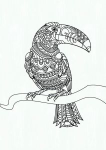 Bird Coloring Pages for Kids - Coloring Pages Birds Lovely Coloring Pages Birds as Well as Free Coloring Pic Parrot Colouring 13b