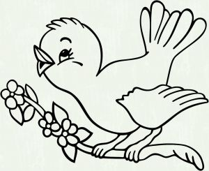 Bird Coloring Pages for Kids - Florida State Bird Coloring Page Free Printable Coloring Pages 14i