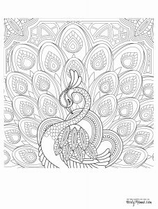 Bird Coloring Pages for Kids - Free Printable Coloring Pages for Adults Best Awesome Coloring Page for Adult Od Kids Simple Floral 8f