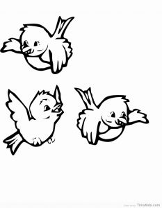 Bird Coloring Pages for Kids - Girl Angry Birds Coloring Pages Download 19j