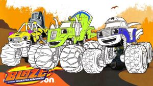 Blaze and the Monster Machine Coloring Pages - Blaze and the Monster Machine Coloring Pages Blaze and the Monster Machines Coloring Pages for Kids 13r