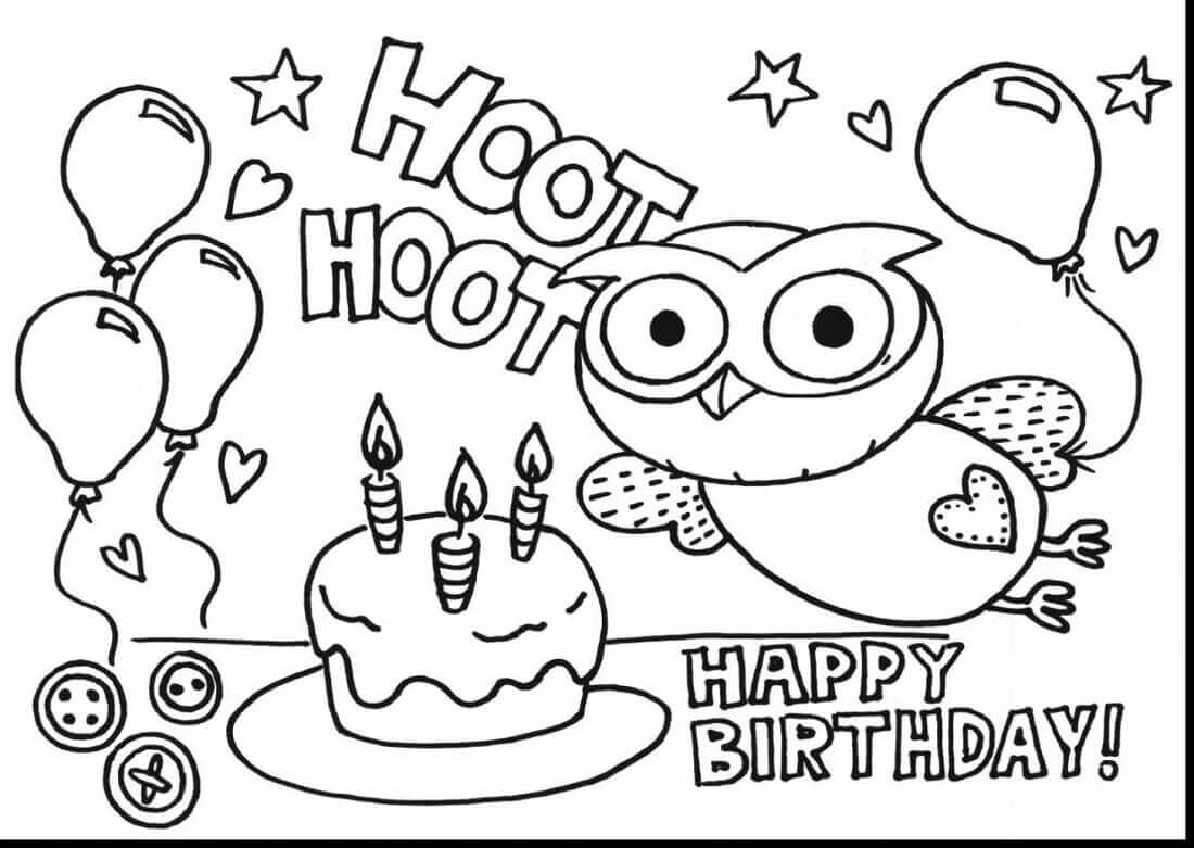 blaze and the monster machine coloring pages Collection-Excellent Birthday Printable Coloring Pages For Your With Birthday Printable Coloring Pages 4-i