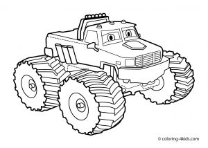 Blaze and the Monster Machine Coloring Pages - Blaze Coloring Book 15 H Best Free Monster Truck Coloring Page 13c