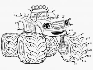 Blaze Coloring Pages - 53 Blaze and the Monster Machine Coloring Pages 9o