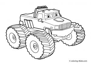 Blaze Coloring Pages - Coloring Pages Monster Trucks 16k