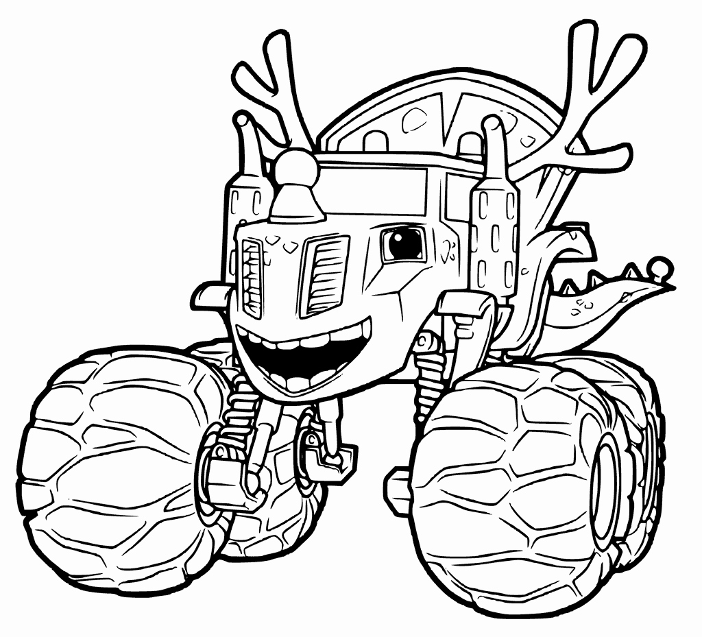 Blaze coloring pages to print monster machine coloring pages top 31 blaze and the monster