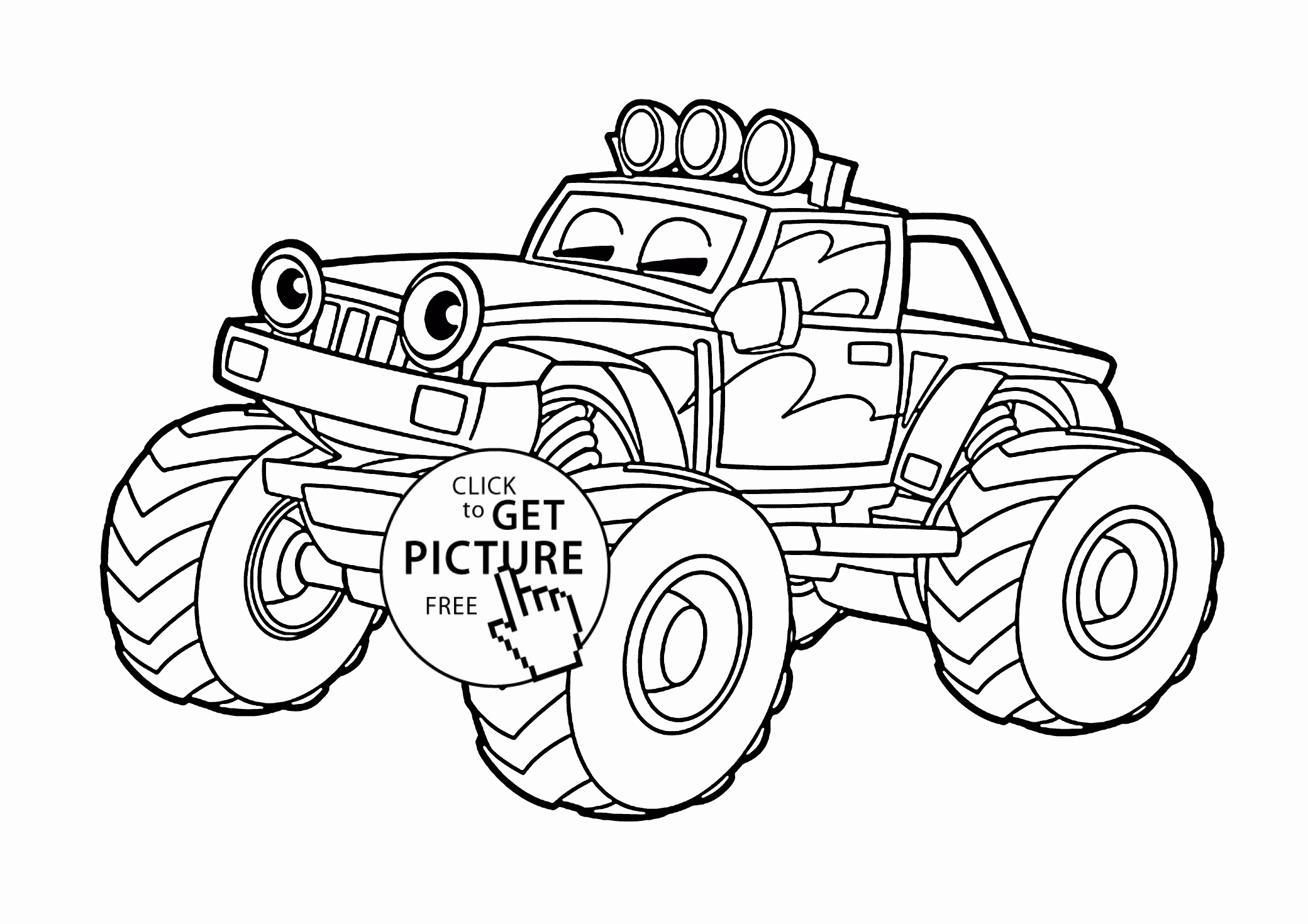 28 Blaze Monster Truck Coloring Pages Collection ...