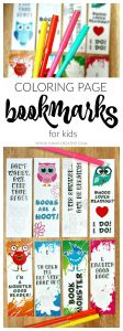 Bookmarks Coloring Pages - Printable Bookmark Coloring Pages for Kids 14a