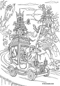Books Of the Bible Coloring Pages - Monster Mash Check Out This Free original Coloring Page for Horror Lovers 14n