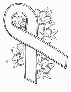 Breast Cancer Coloring Pages - Breast Cancer Coloring Pages Coloring Pages for Kids 5h