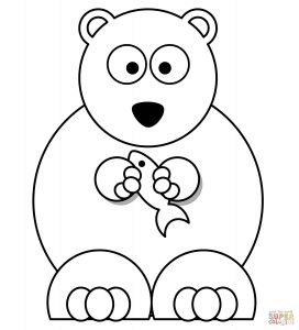 Build A Bear Coloring Pages - Polar Bears Coloring Pages 4r